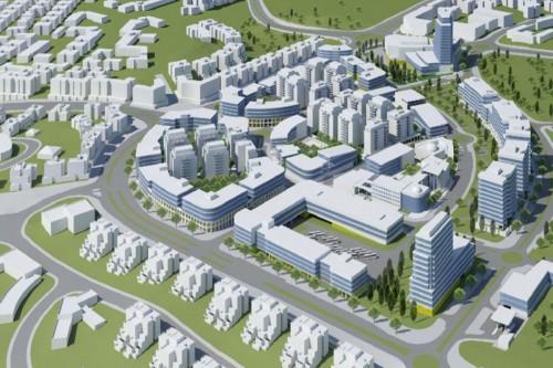 חריש - מרכז עירוני ראשי